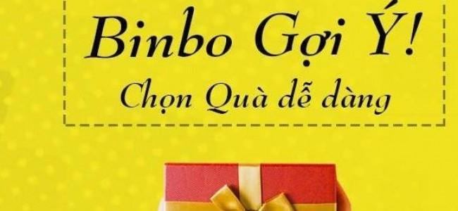 Trang tư vấn quà tặng Binbo tặng 15% discount cho các bạn có ước mơ