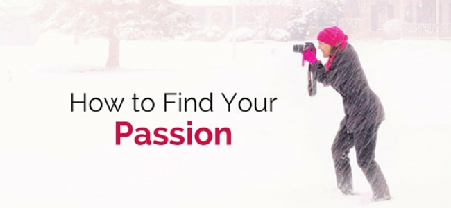 Finding Passion in simple way